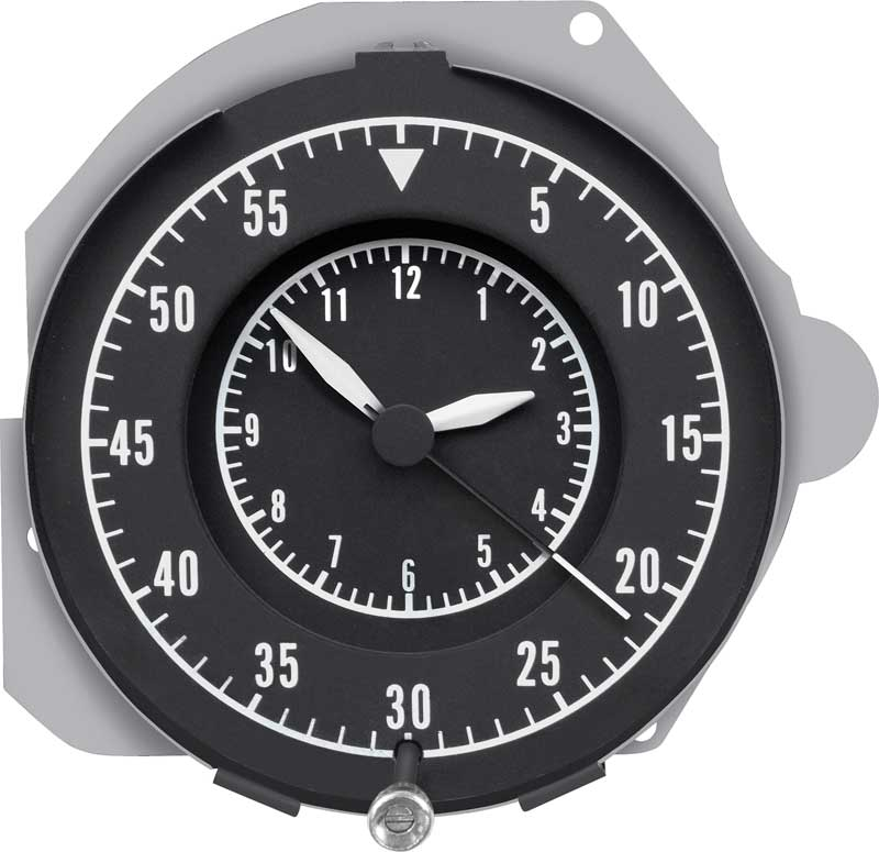 68-70 B BODY RALLY DASH CLOCK