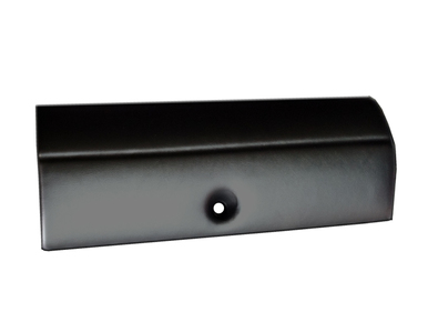 68-69 CHARGER GLOVE BOX DOOR BLACK DASH PAD