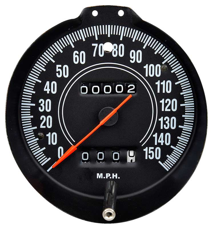 72-74 E BODY RALLY GAUGE SPEEDOMETER WITH 150 MPH