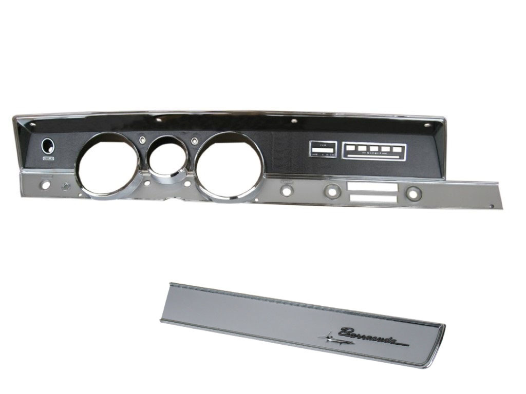67 A BODY RALLY DASH BEZEL KIT WITH AC