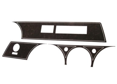 67-69 A BODY RALLY DASH WOODGRAIN INSERT