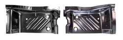 70 Barracuda Rear Floor Pan Footwell Area Pair