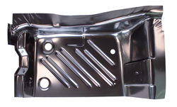 70 Barracuda Rear Floor Pan Footwell Area RH