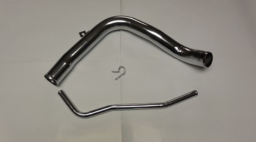 66-67 B BODY PLYMOUTH LOWER FILLER NECK & VENT TUBE