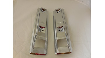 "66-70 B BODY (EXCEPT CHARGER) FRONT ARM REST BASES 9"" SOLD AS A PAIR"