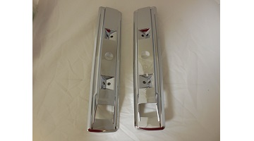 "66-70 CHARGER, 2 DOOR C BODY ARM REST BASES 13"" SOLD AS A PAIR"