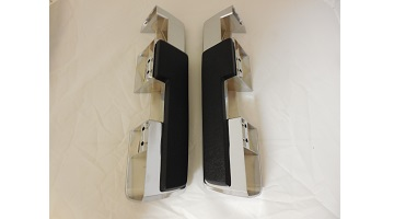 64-65 B & C BODY FRONT ARM REST BASES & PADS SOLD AS A SET