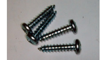 "67-76 ARM REST BASE SCREWS 1 3/4"" LONG #14 SOLD AS A SET OF 4"