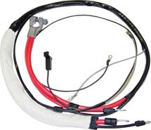 66 B BODY HEMI POSITIVE BATTERY CABLE WITH AUTOMATIC TRANSMISSION