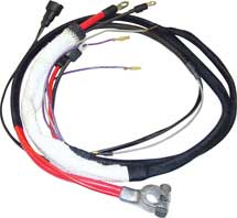 67 B BODY HEMI POSITIVE BATTERY CABLE WITH MANUAL TRANSMISSION