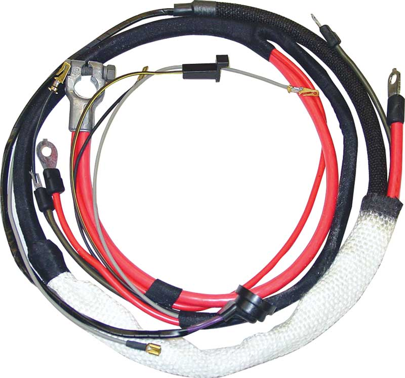 70 B BODY HEMI POSITIVE BATTERY CABLE WITH AUTOMATIC TRANSMISSION