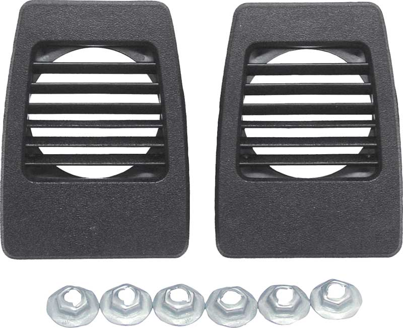 62-66 B, 63-66 A BODY 72-80 TRUCK DASH VENTS  NON AC