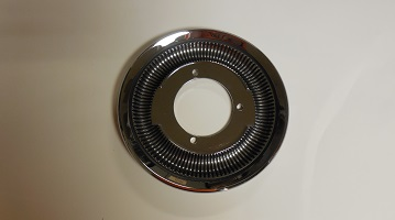 68-70 B BODY FLIP TOP GAS CAP TRIM RING BEZEL