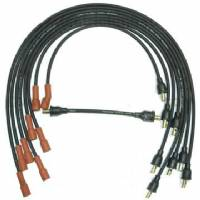 SPARK PLUG WIRE SET FOR 1961 B-BODY & C-BODY 361, 383 & 413 V8 ENGINES WITHOUT RAM CHARGER INTAKE, DATE-CODED 1ST QTR 1961