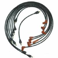 SPARK PLUG WIRE SET FOR 1961 B-BODY & C-BODY ALL V8 ENGINES WITH RAM CHARGER INTAKE, DATE-CODED 1ST QTR 1961