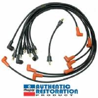 SPARK PLUG WIRE SET FOR 1968 A-BODY, B-BODY & C-BODY 383 & 440 ENGINES, DATE-CODED 3RD QTR 1967