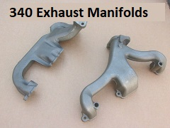 340 Exhaust Manifolds