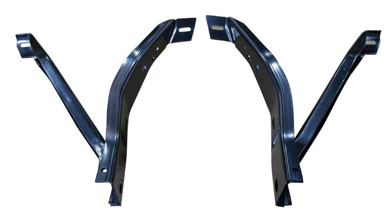 70-72 Barracuda Front Bumper Bracket Set