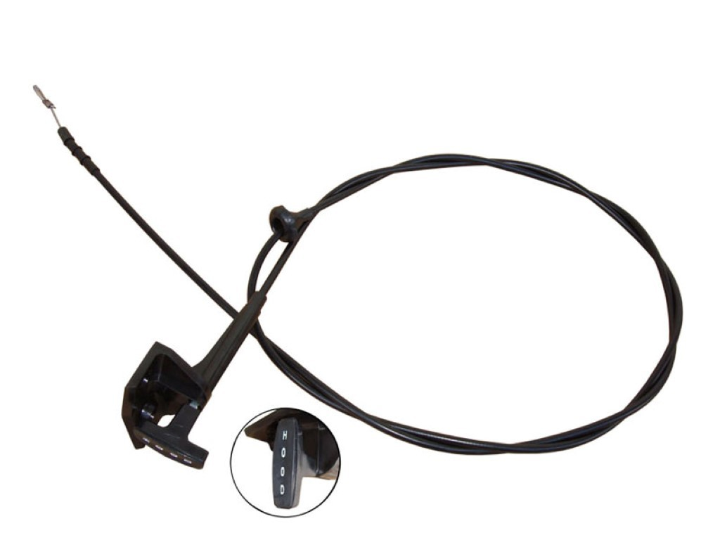 70-74 E BODY HOOD RELEASE CABLE