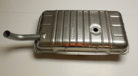 40-48 DODGE, PLYMOUTH, DESOTO, CHRYSLER 6 CYLINDER GAS TANK WILL NOT FIT STATION WAGON OR SEDAN