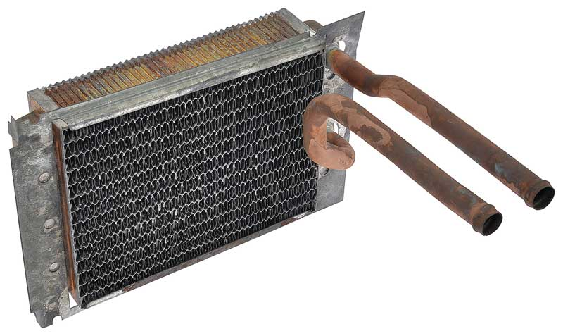63-66 A BODY COPPER BRASS HEATER CORE