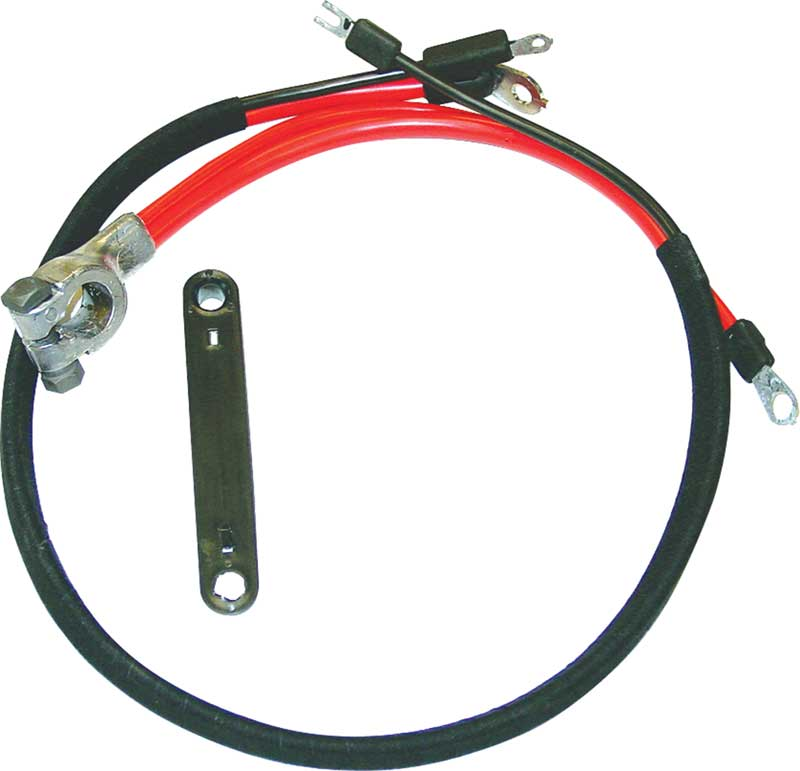 71-74 A , 71-72 B, 70-72 E BODY 6 CYLINDER & BIG BLOCK POSITIVE BATTERY CABLE