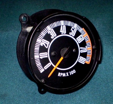 67-71 A BODY DASH TACHOMETER, FOR CARS WITH 120 MPH SPEEDOMETER