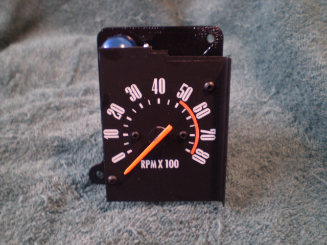 71-74 B BODY NON RALLY TACHOMETER, REPLACES CLOCK