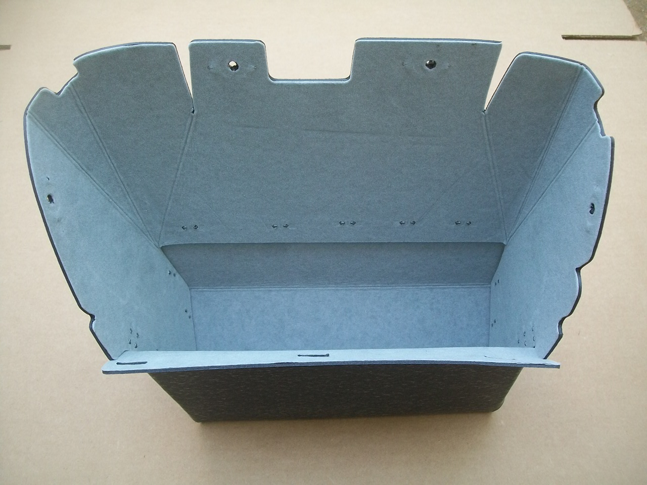 55-56 Chrysler/Imperial Glove Box Gray Felt