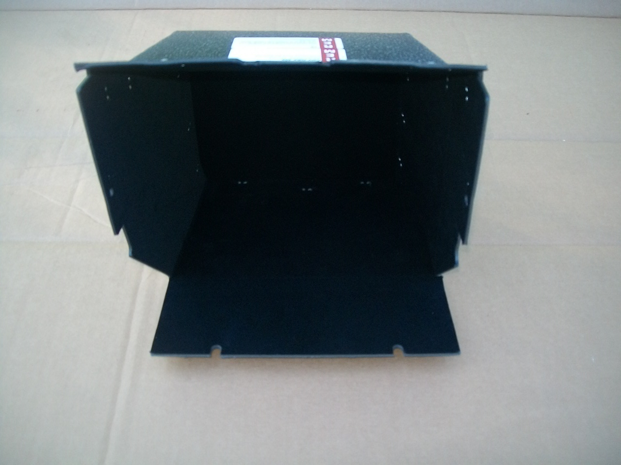 55-56 Desoto Glove Box Black Felt