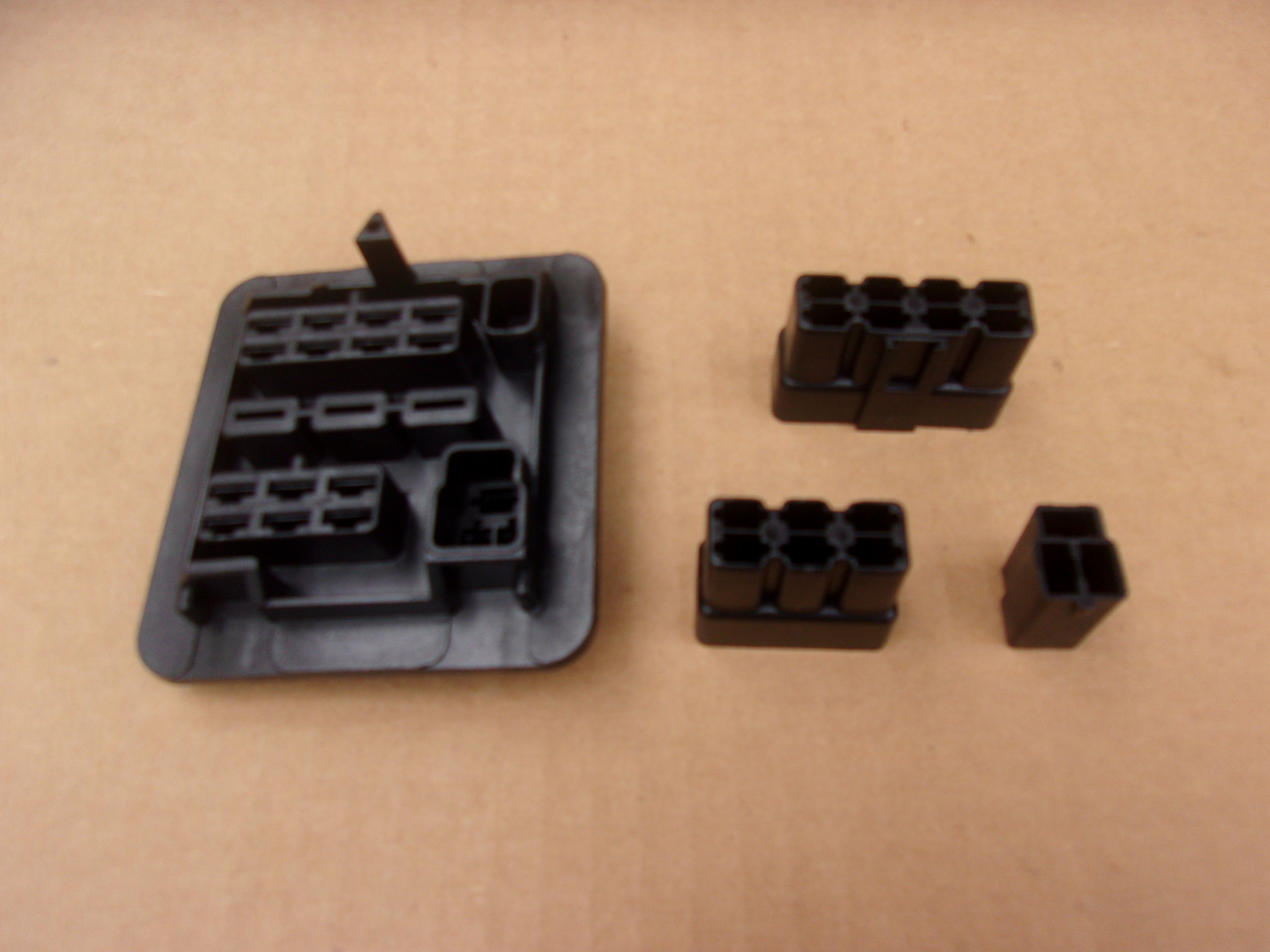 1962 1963 Bulkhead connector set