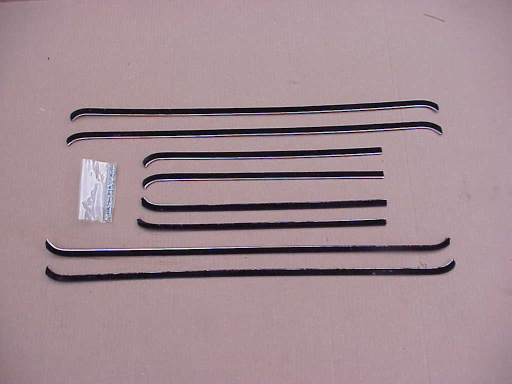 1940-1948 Plymouth Dodge Desoto Chrysler 4 Door Sedan Catwhisker Set