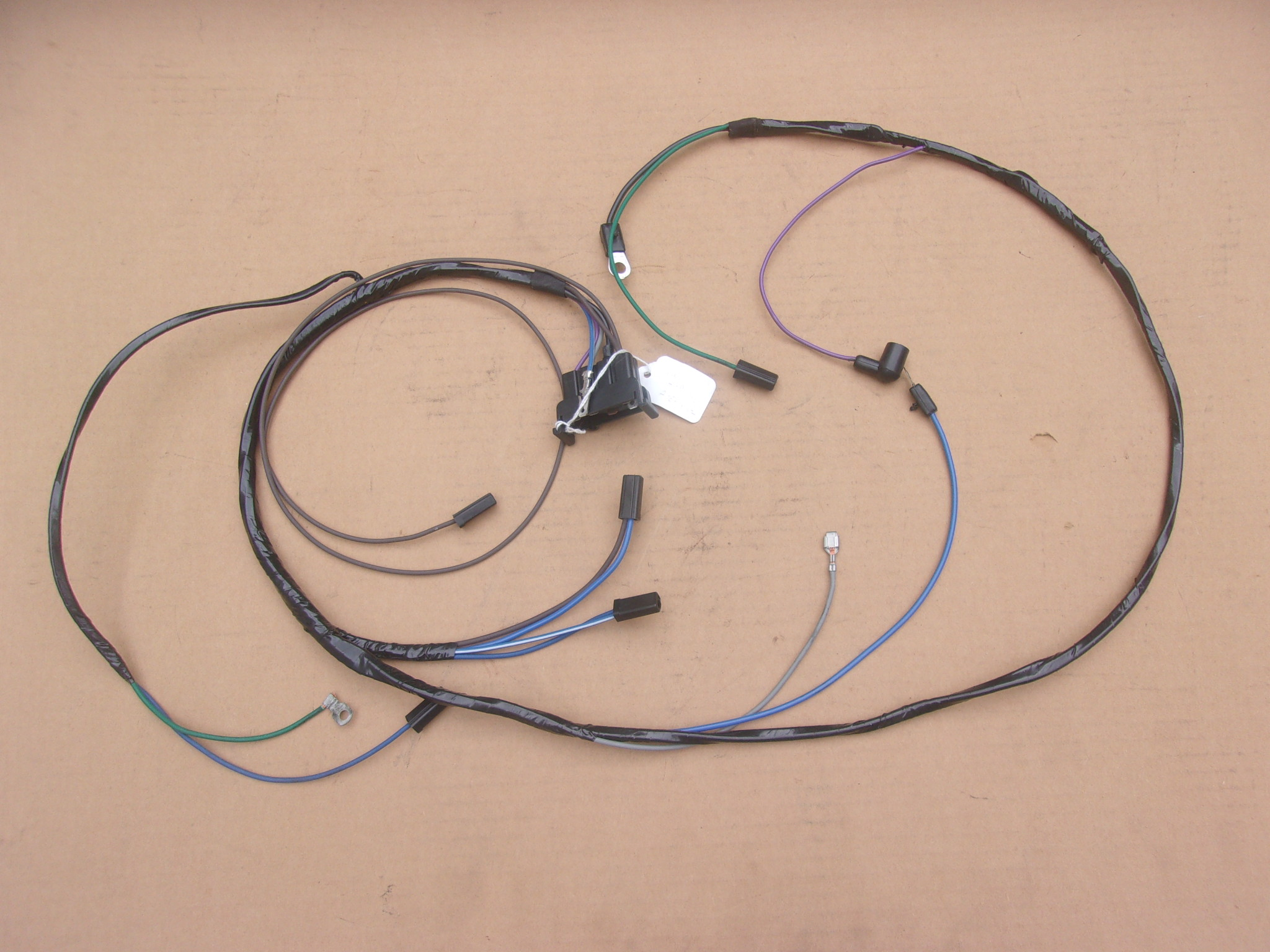 66 A BODY ENGINE HARNESS FOR SMALL BLOCK W/POINTS