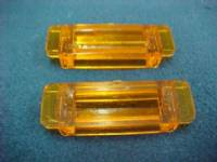 1968-1969 DODGE CHARGER HOOD SIGNAL LENSES